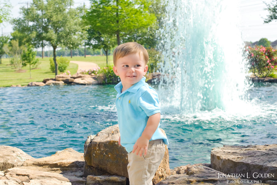 Andrew-posing-Oyster-Creek-fountain