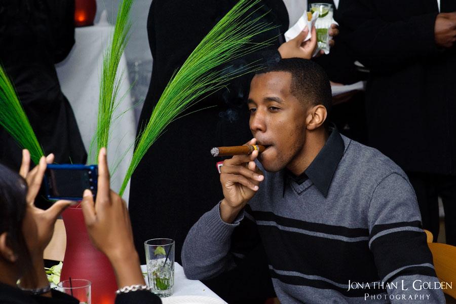 smoking-cigar-la columbe d'or-cuban-party
