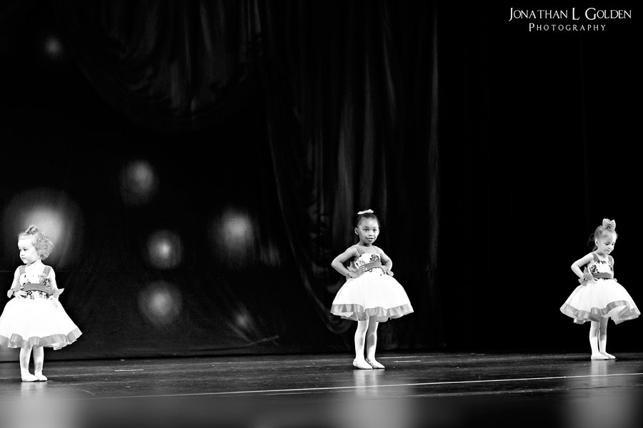 ava-recital-on-stage-b&w