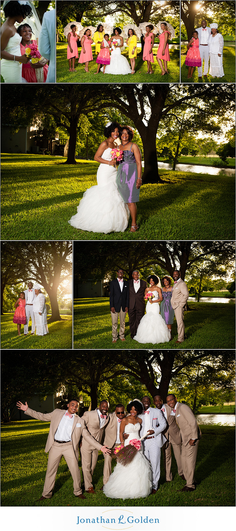 Orchard at Caney Creek Wedding Photos
