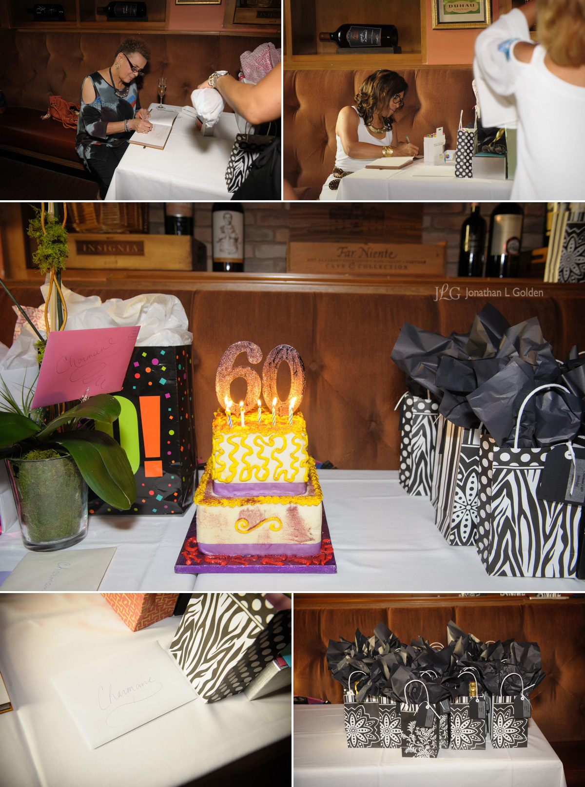 Birthday Dinner Party Photography
