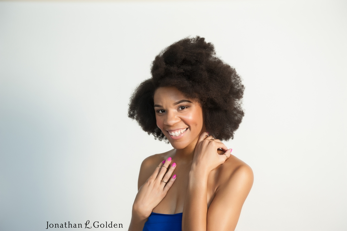 beautiful Natural hair photoshoot houston